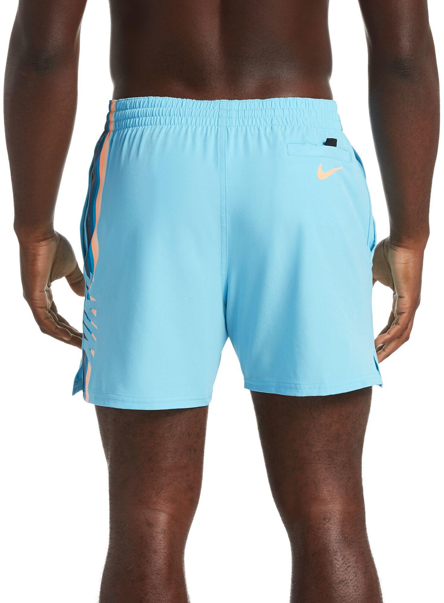 Kiwi Zwembroek Heren.Nike Swim Retro Stripe Lap 5 Zwembroek Heren Blauw L Online Bij